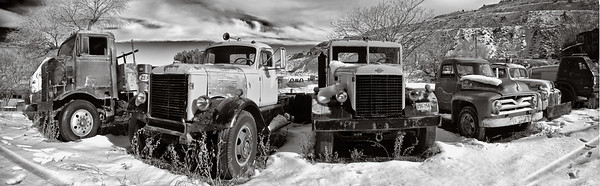 Old Trucks, Gold King Mine and Ghost Town, Jerome, Arizona, 2010.