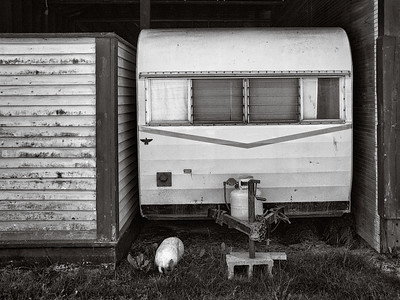 Travel trailer, Port Townsend, Washington, 2007.