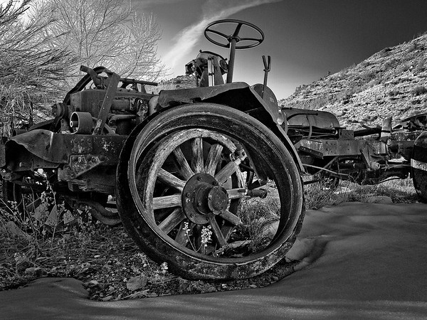 Out to Pasture - Relics of the Internal Combustion Age