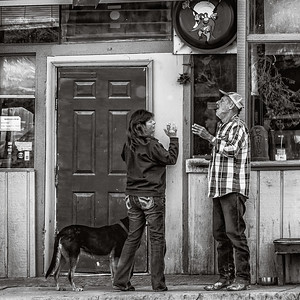 """The Bar"", Hot Springs, Montana, 2014."