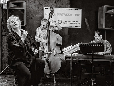 Gretta Matassa Trio, Shoreline, Washington, 2014.