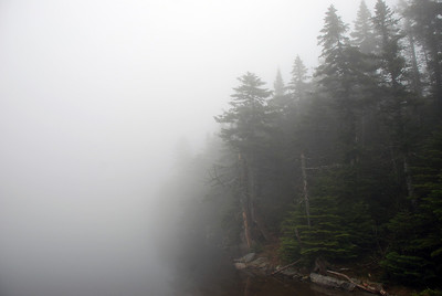 Heavy Fog, Sterling Pond, Vermont