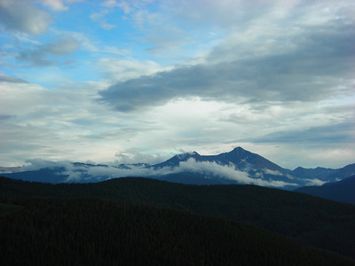 Clearing Storm, Mosquito Range, Colorado, 2006