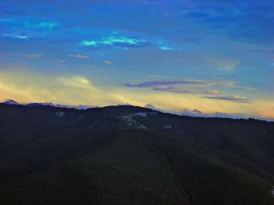 Clearing Storm, Mosquito Range III, Colorado, 2006 (Not hung in show for space considerations.)
