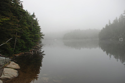 Sterling Pond in Fog: Vermont, 2007
