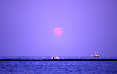 moon over barneget inlet