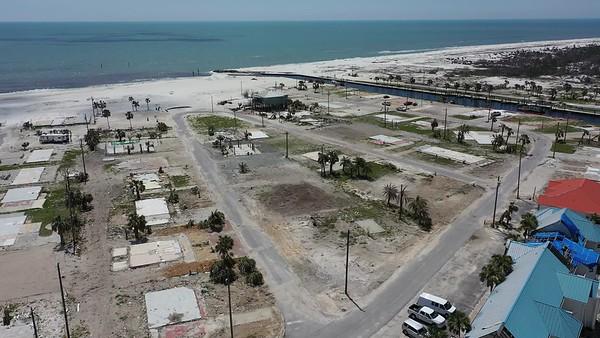 2019 Mexico Beach Hurricane Recovery - Drone 003A - Deremer Studios LLC