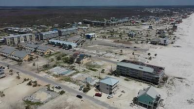2019 Mexico Beach Hurricane Recovery - Drone 004A - Deremer Studios LLC