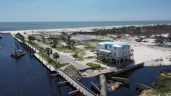 2019 Mexico Beach Hurricane Recovery - Drone 001A - Deremer Studios LLC