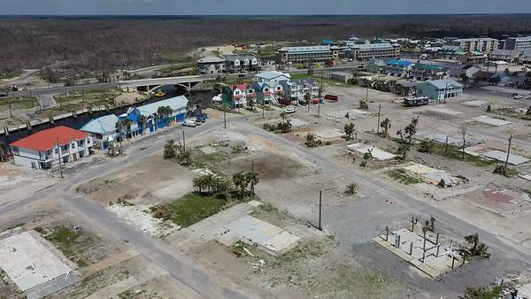 2019 Mexico Beach Hurricane Recovery - Drone 002A - Deremer Studios LLC
