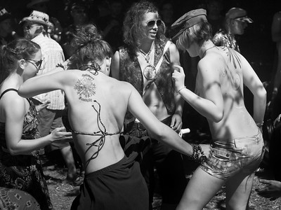 Dancers at the Oregon Country Fair, 2010.