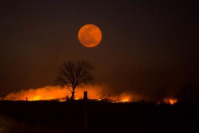 Fire in the Flint Hills