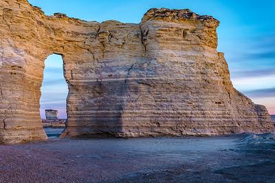 Key hole Monument rocks