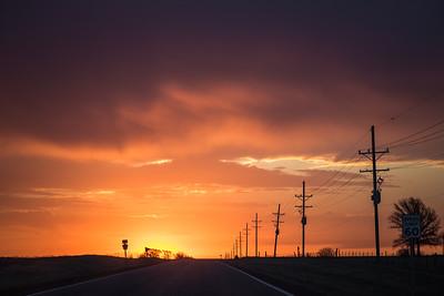 56 Hwy Sunset