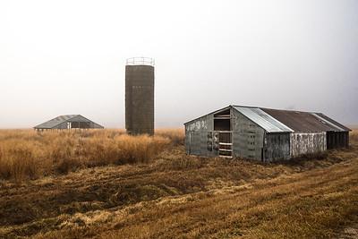 Hay barns & silo