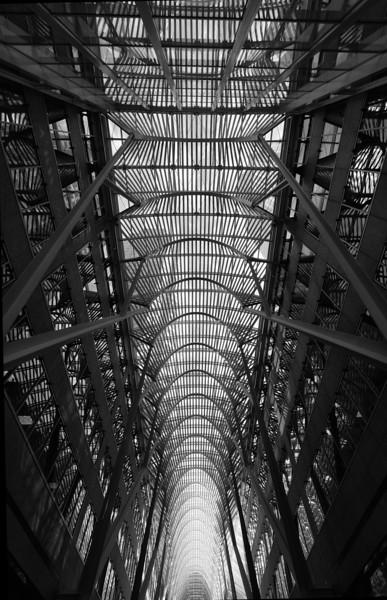 Atrium, BCE Place, Toronto - architect Santiago Calatrava