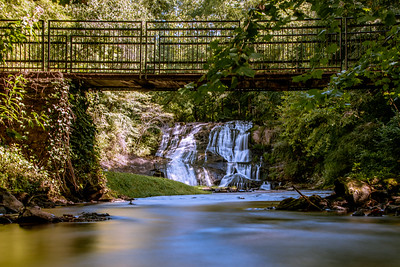 From Under the Bridge Cane Creek Falls - Georgia-1