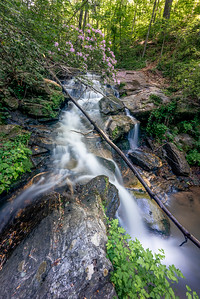 Trail Side Falls - Lake Russell Recreation Area