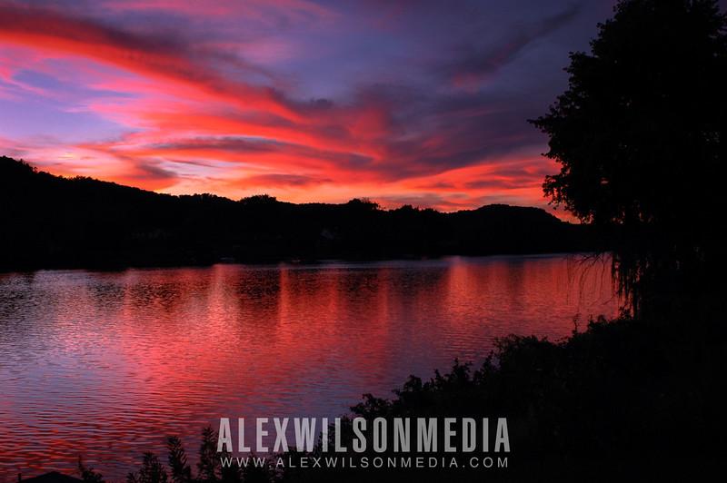 Sunset on the Kanawha