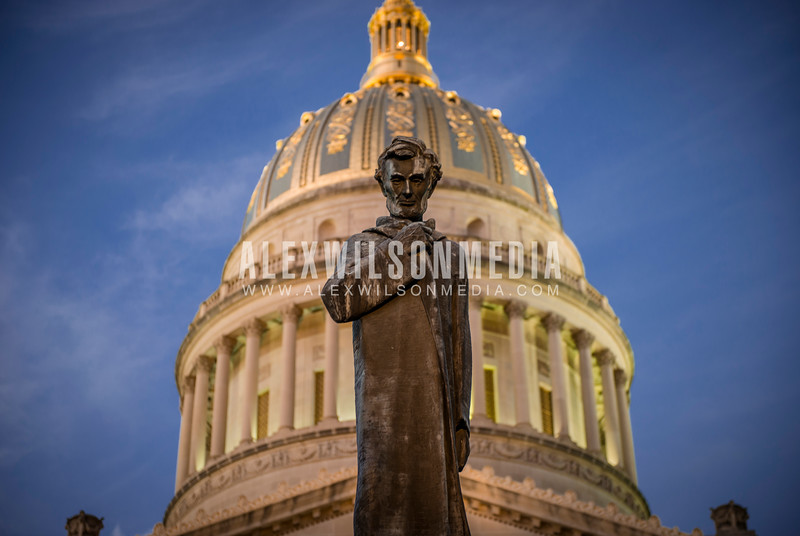 Lincoln Walks at Midnight