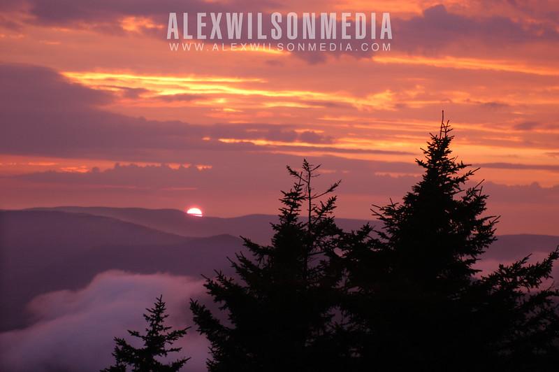 Snowshoe Sunset