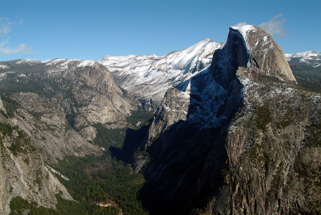 Half Dome, Tenaya Canyon