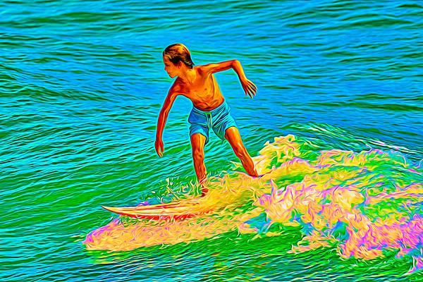 Crazy Surfer