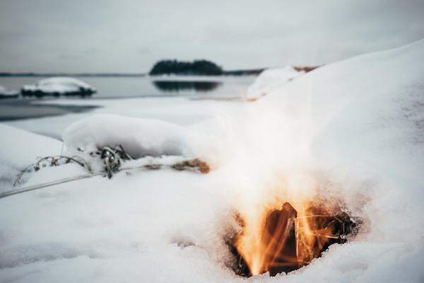 Fire And Lake XV