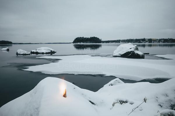 Fire And Lake II