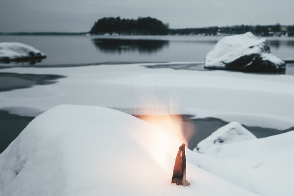 Fire And Lake III