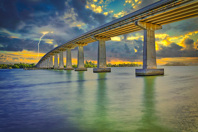 Wabasso bridge - Vero Beach Florida
