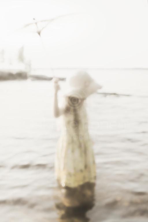 Sunshade And GirlI I (Warm Water)