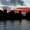 25 x 7  Mono Lake Misty Red Sunrise 0964-0967 Pano Merge2  ©2016MelissaFaithKnight&FaithPhotographyNV