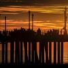 Huntington Beach Pier Sunset ©2014 MelissaFaithKnight&FaithPhotographyNV -