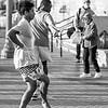 Huntington Beach Free Dancing B&W ©2014 MelissaFaithKnight&FaithPhotographyNV -3345