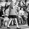 Huntington Beach Tambourine Lady B&W ©2014 MelissaFaithKnight&FaithPhotographyNV -3353