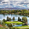This is a LIMITED EDITION Stitched Pano Print - 30 prints only available.  Now available is #4/30 NOT FOR USE FOR WEBS - Lakeridge GC Signature Island Hole #15 - May 2016