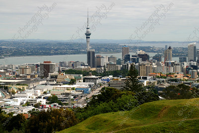 2260-Auckland, New Zealand (Sky Tower in the middle) (8x12)