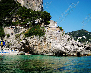 NEW! 2115-The waters of Capri Island, Italy (8x10)