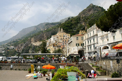 NEW! 2065-The hills of Amalfi, Italy (8x12)