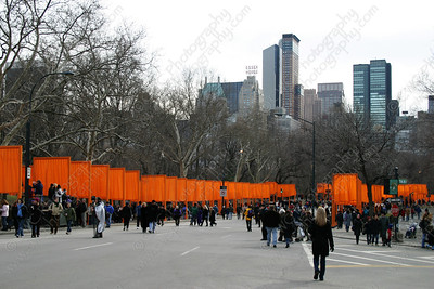 6080-Pedestrians inside Central Park in New York City (8x12)