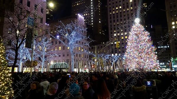 4130-The christmas tree at Rockefeller Center in 2018