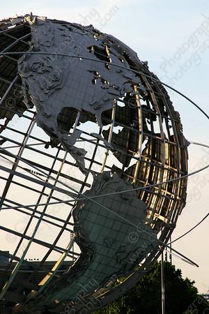 4060-The Unisphere world sculpture in Queens, New York City (8x12)