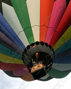 4020-A colorful hot air balloon (8x10)