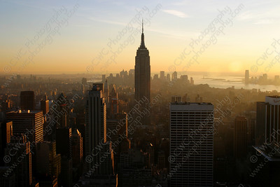 3170-The Empire State Building in New York City (8x12)