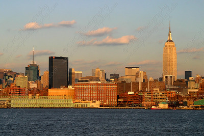 3125-The Empire State Building and midtown Manhattan in New York City (8x12)