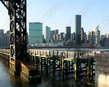 3080-Manhattan across the East River in New York City (8x10)