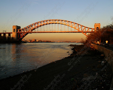 3160-Bridge over the East River in New York City (8x10)