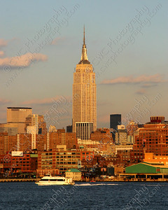 3154-The Empire State Building in New York City (8x10)