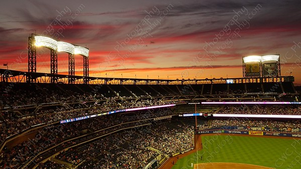 5110-Sunset over Citi Field
